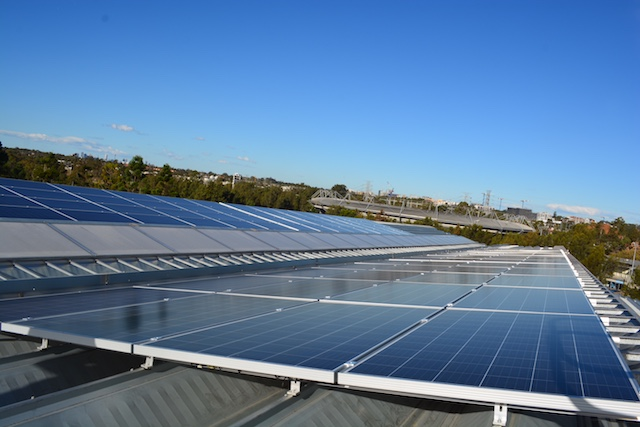 commercial solar power service