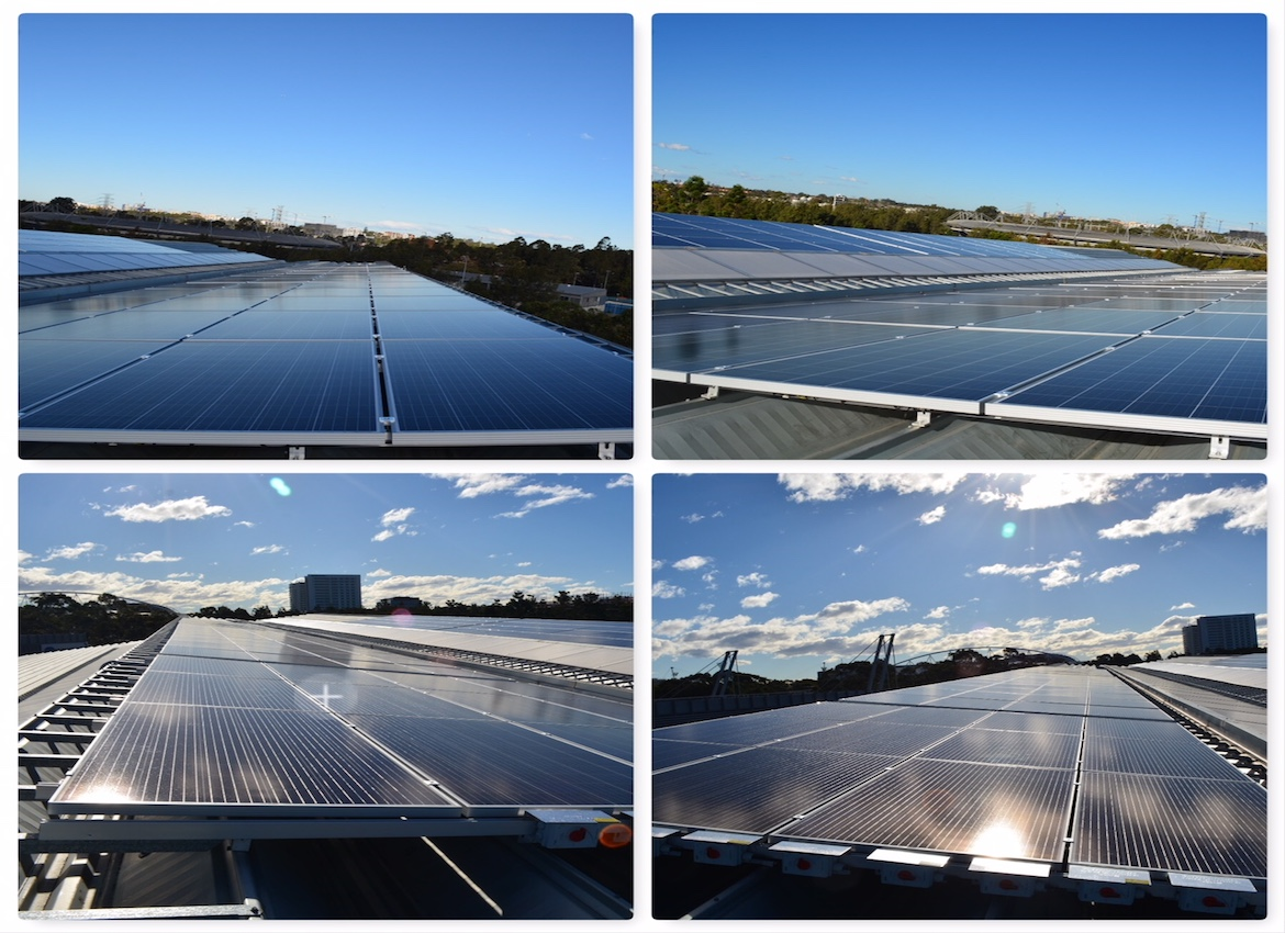 100Kw System Netball NSW -Genea Netball Centre
