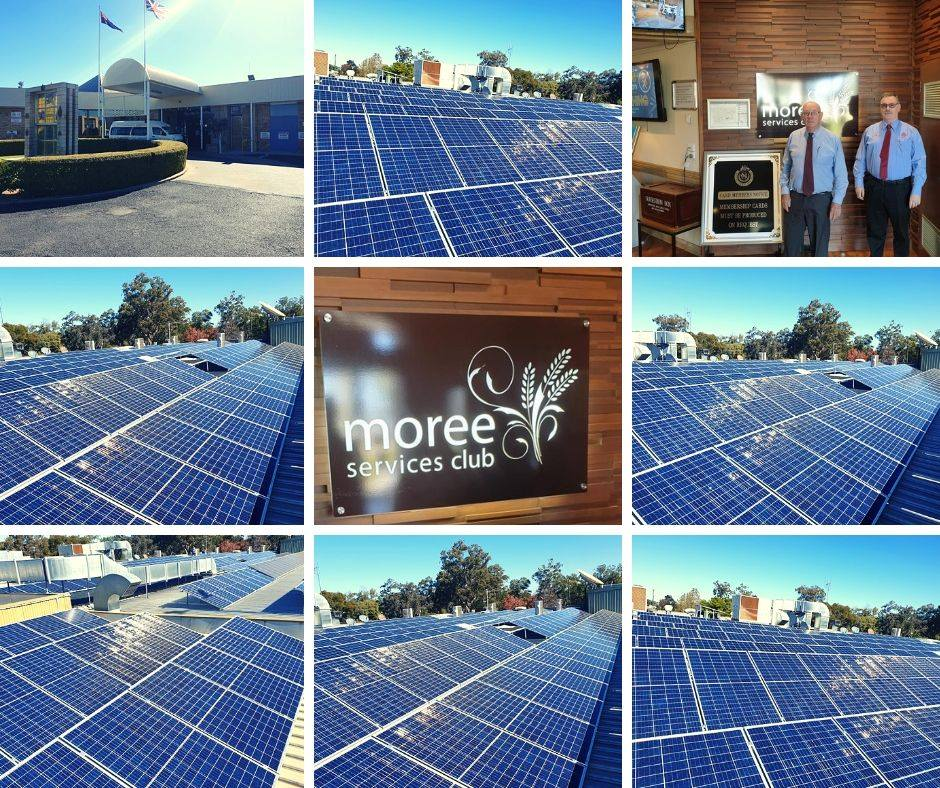 The Services Club in Moree (RSL)  Moree   135KW