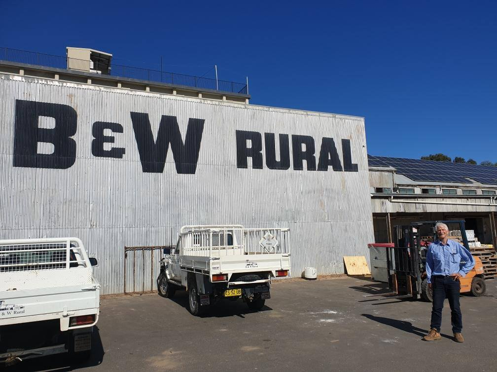 B & W  Rural  Moree 115KW