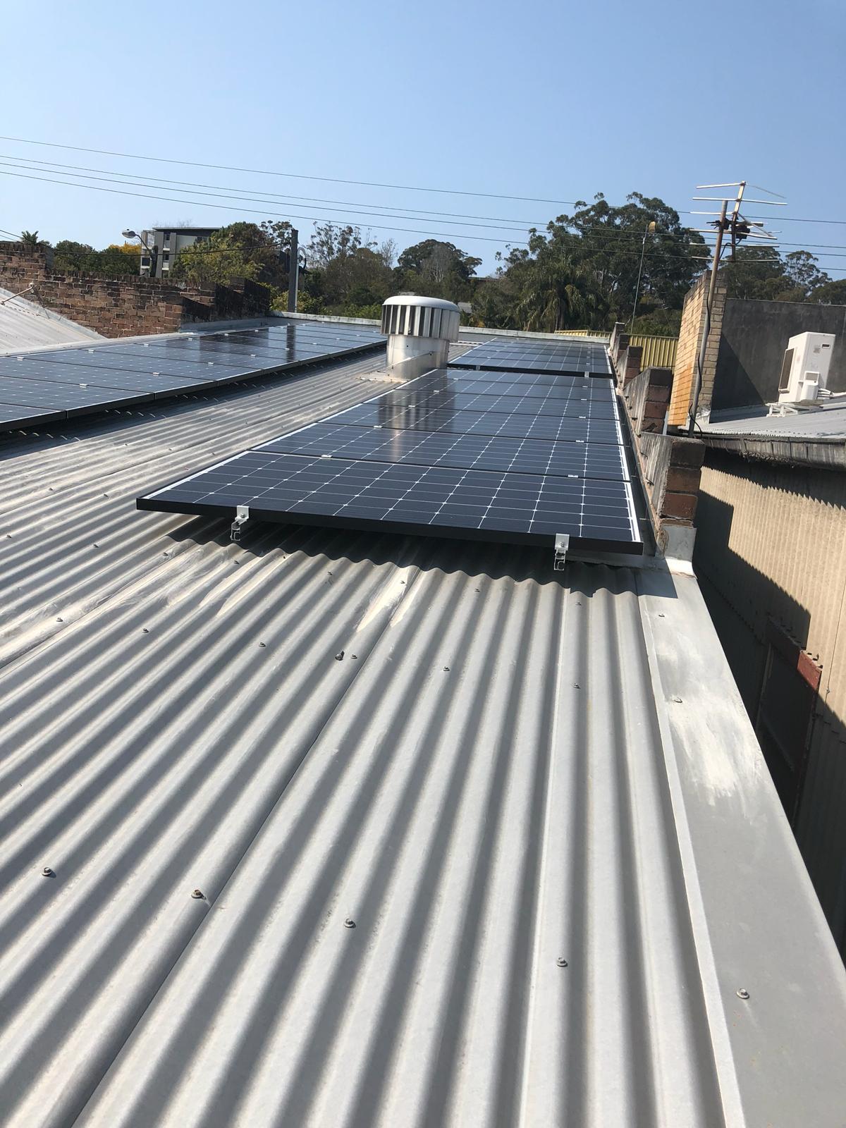 1O KW North Gosford Solar Laundrette